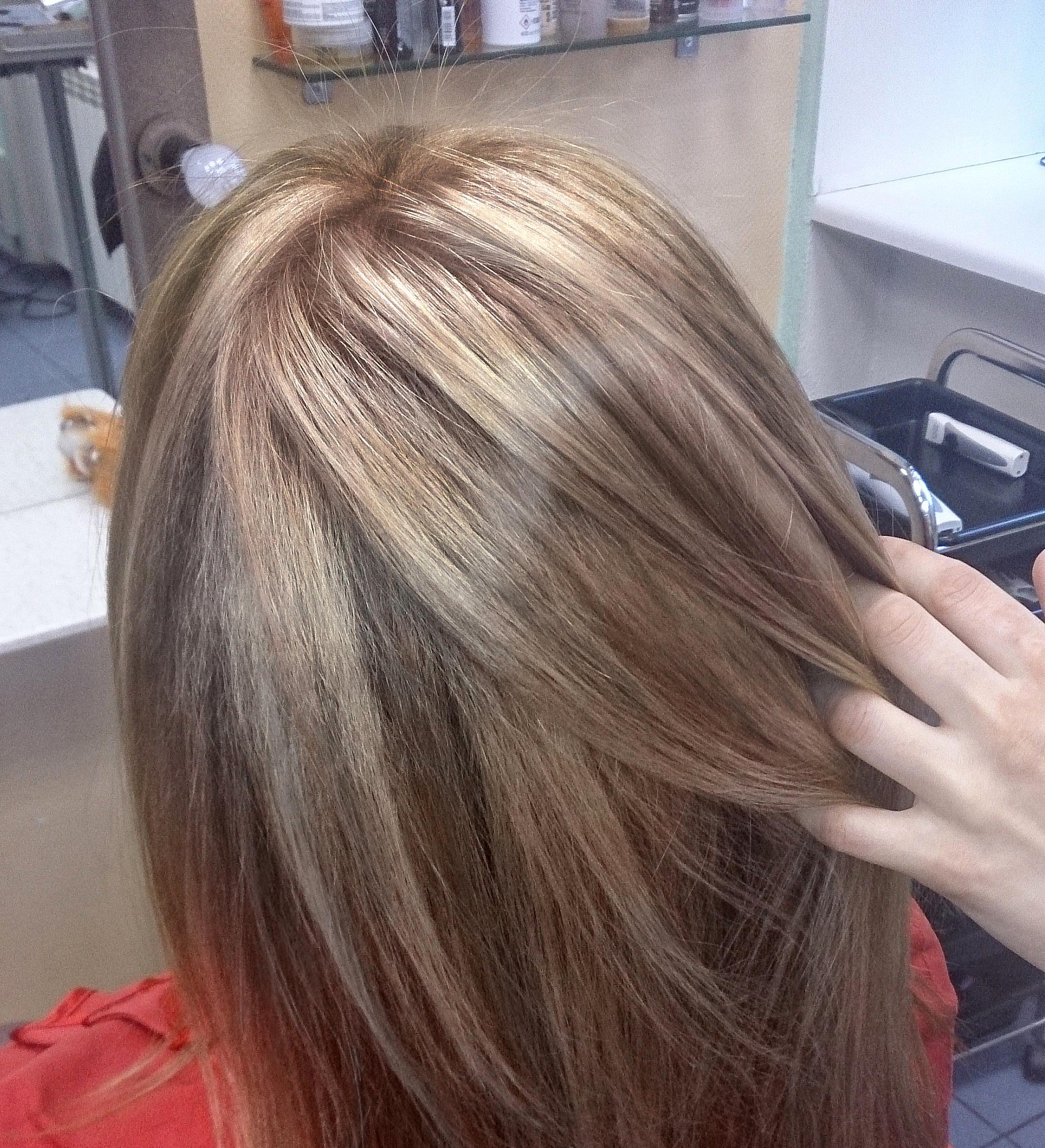 Брондирование волос фото как сделать