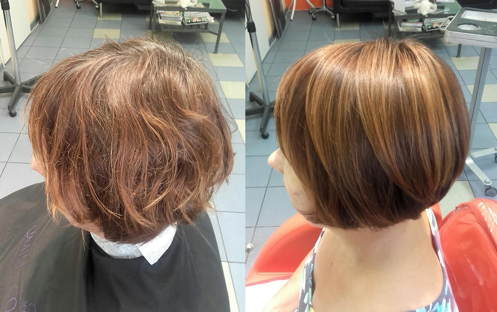 Брондирование волос на темные короткие волосы фото
