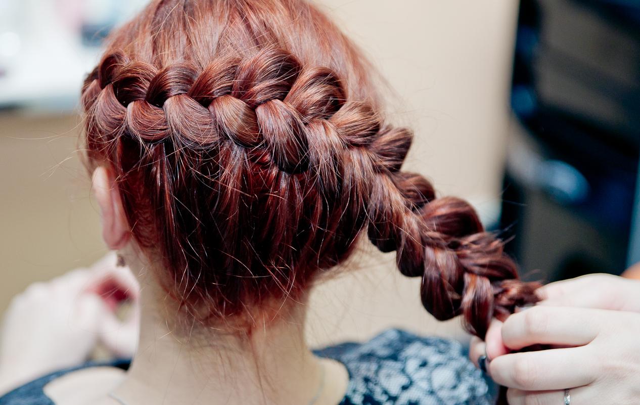 Коса плетение в картинках